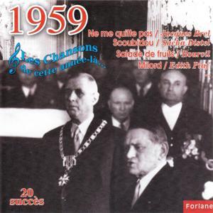 1959 : Les chansons de cette année-là (20 succès)