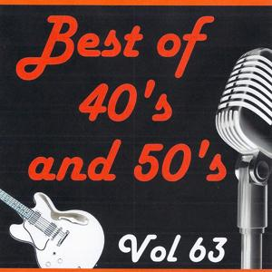 Best of 40's and 50's, Vol. 63